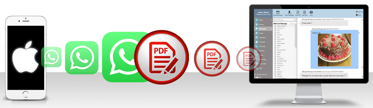 How to save long iPhone message conversations as PDF files | TouchCopy