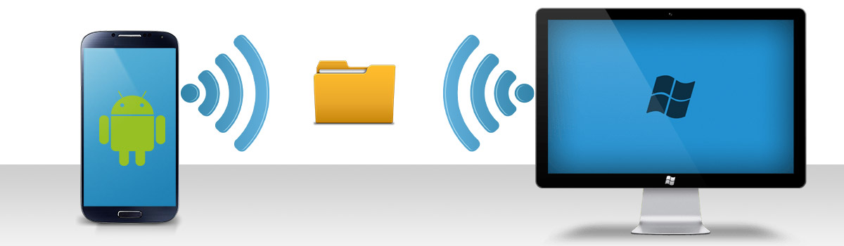 3 Ways to Transfer Files from Android to PC WiFi