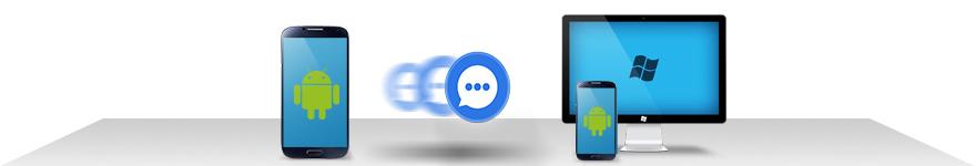Android SMS übertragen