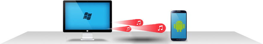 How to transfer music from computer to android phone wirelessly