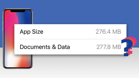 What is Documents and Data on iPhone?