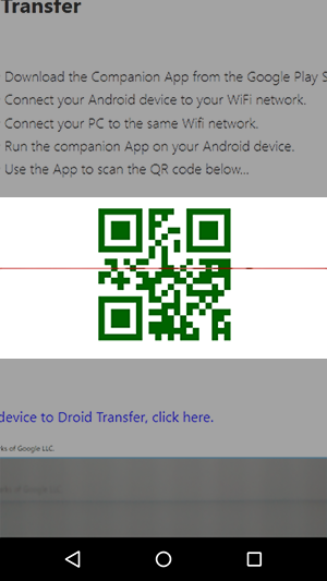 Getting Started with Droid Transfer