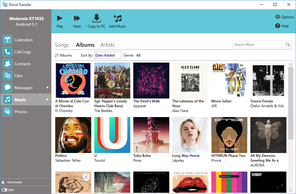 how to play itunes music on android phone