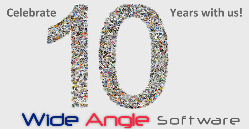 Wide Angle Software anniversary