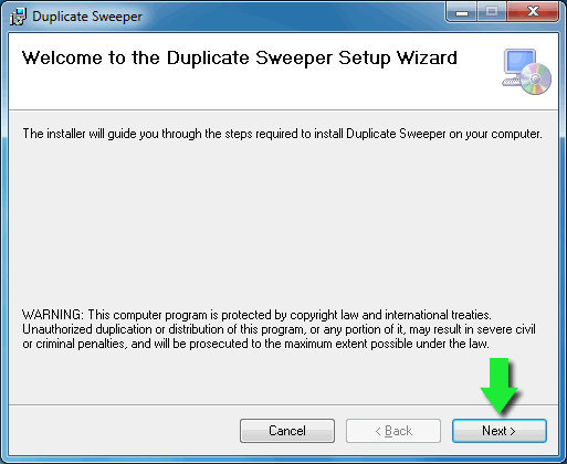 Install Duplicate Sweeper