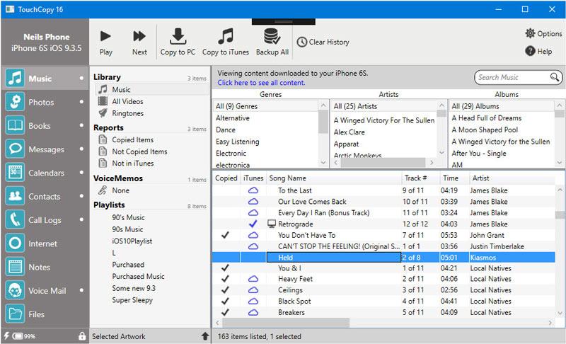 Windows 7 TouchCopy 16.54 full