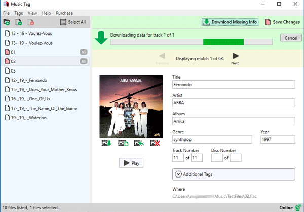 Itag music tag editor for pc