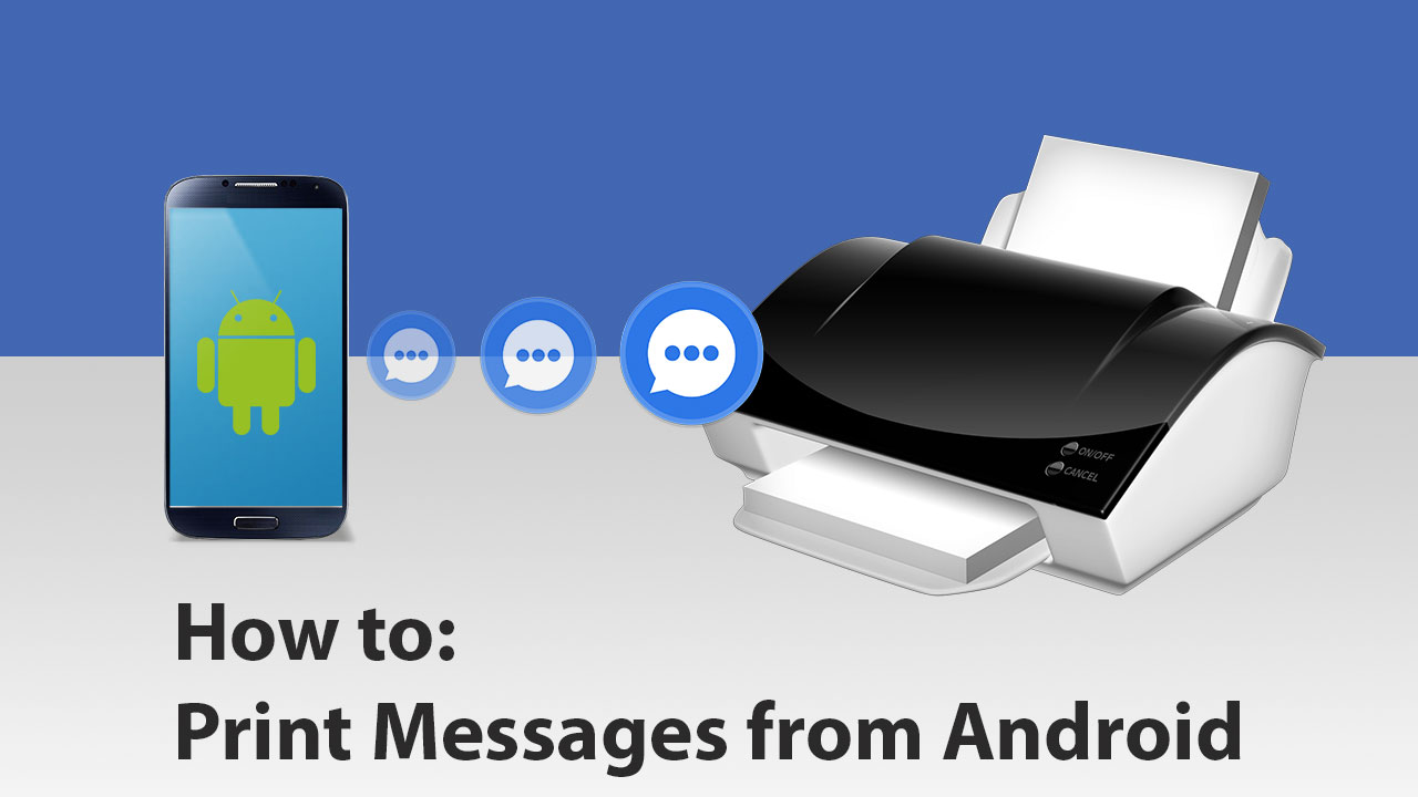 How To Print SMS from Android with SMS EasyReader and Printer?