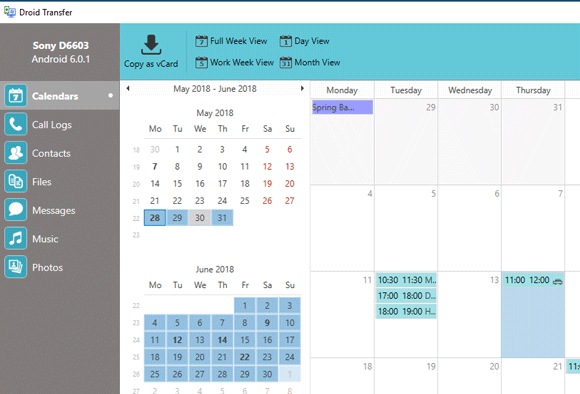 Android Calendar.Backup Calendars From Your Android Device And Import In Outlook