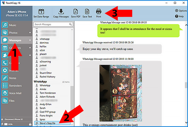 iphone messages on pc how to save whatsapp chat on pc iphone to pc 8792