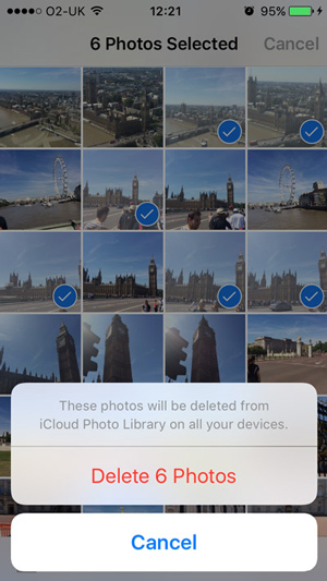 How to delete all photos from iPhone at once | TouchCopy