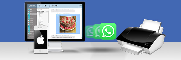 How to print out iPhone messages and WhatsApp conversations
