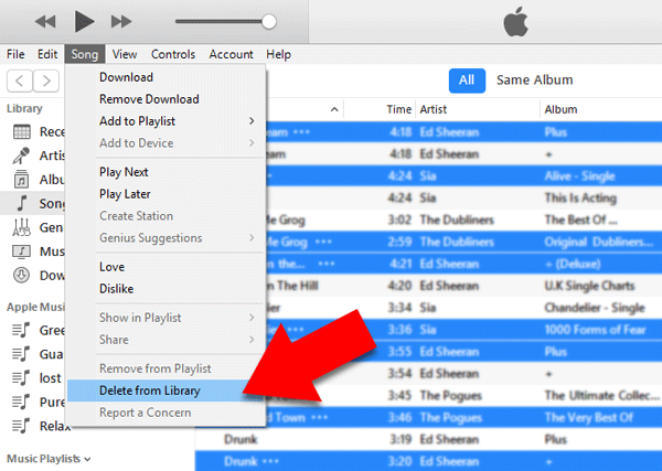 How to delete duplicates in iTunes | Find and Remove