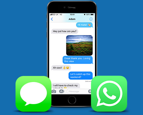 how to backup and print messages on your iphone